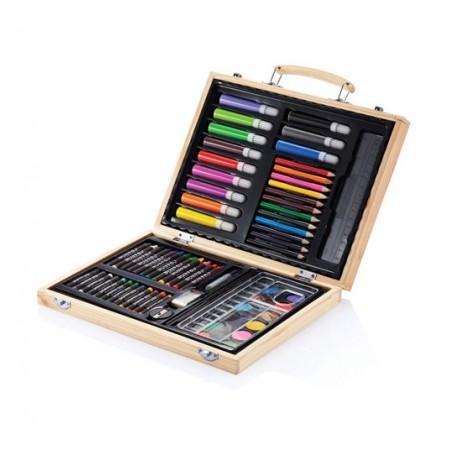 Trusa de colorat artist 67 piese