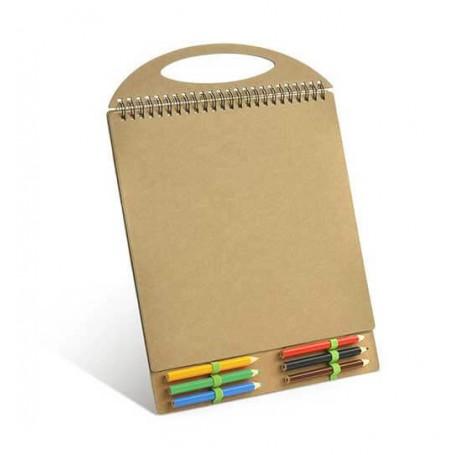 Set bloc de desen cu planse de colorat