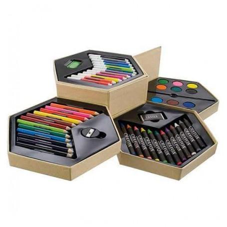 Trusa de colorat pentru copii set ARTIST