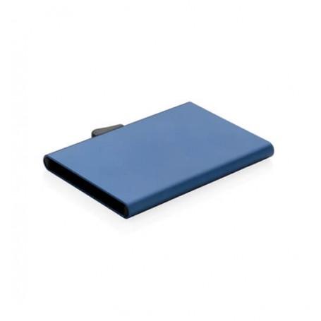 Port card C-Secure anti RFID din aluminiu