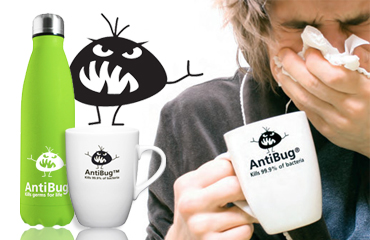 Antibug - Obiecte Promotionale Antibacteriene
